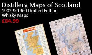 Distiller Maps of Scotland