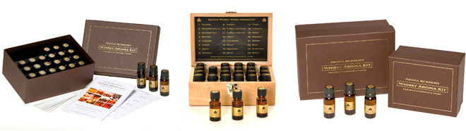 The Scotch Whisky Aroma Nosing kit