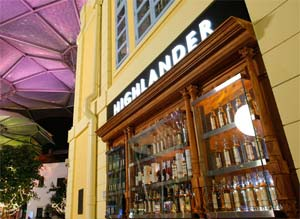 The Highlander Bar Exterior