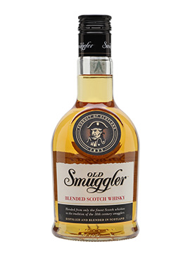 old smuggler bottle