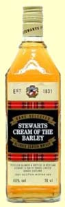 stewart's craeam of the barley bottle