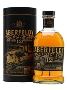 aberfeldy whisky bottle