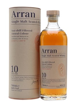 arran whisky bottle