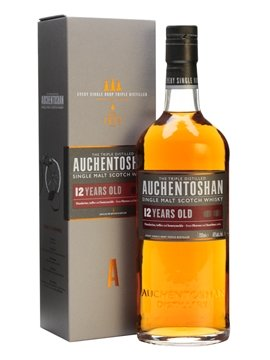 auchentoshan whisky bottle