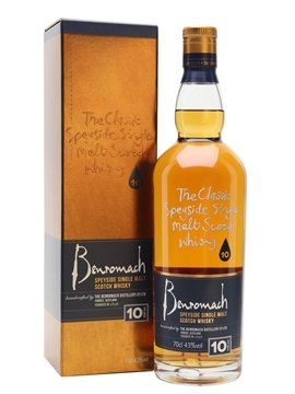 benriach whisky bottle