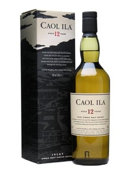 Caol Ila whisky bottle