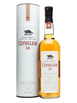 Clynelish whisky bottle