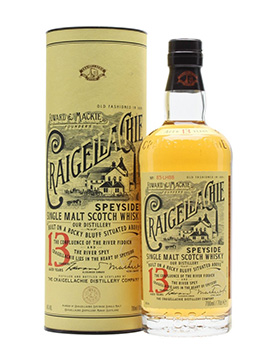 craigellachie whisky bottle