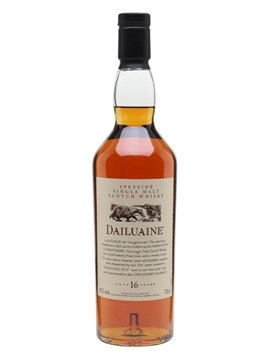 dailuaine whisky bottle