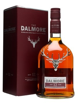 dalmore whisky bottle