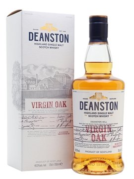 deanston whisky bottle