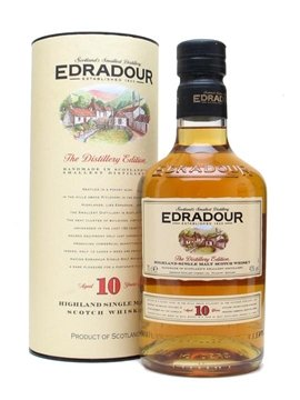 edradour whisky bottle