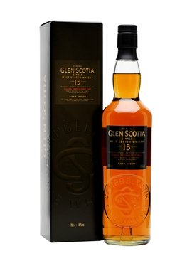 glen scotia whisky bottle