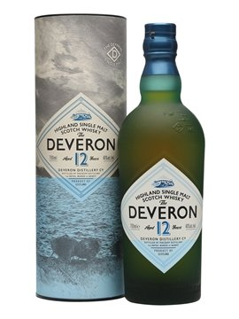 glen deveron whisky bottle