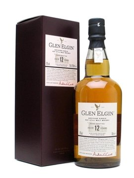 glen elgin whisky bottle