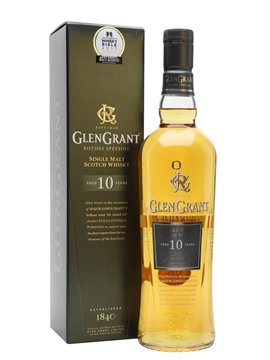 glen grant whisky bottle