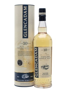 glencadam whisky bottle