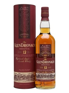 glendronach whisky bottle