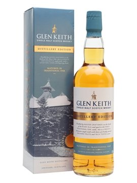 glen keith whisky bottle