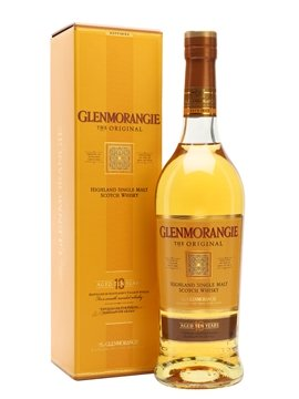 glenmorangie whisky bottle