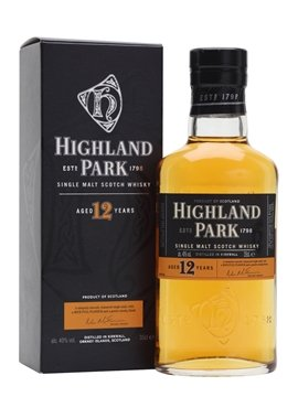 highland park whisky bottle