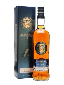 inchmurrin whisky bottle