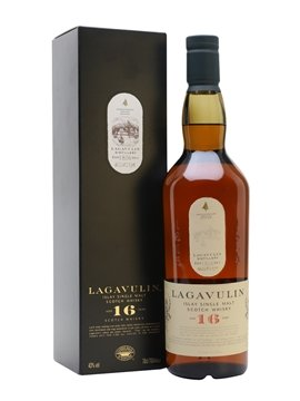 lagavulin whisky bottle