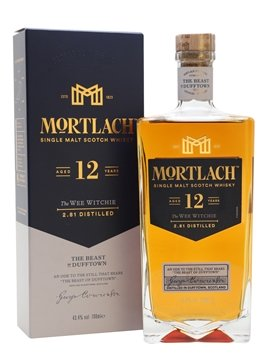 mortlach whisky bottle