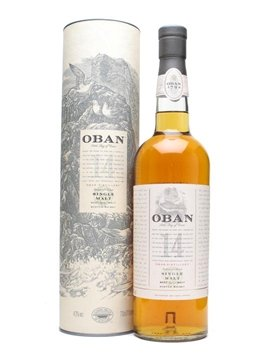 oban whisky bottle