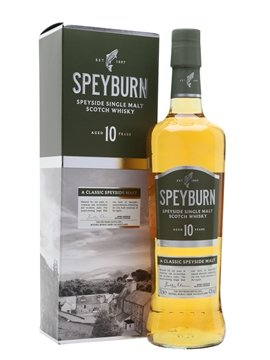 speyburn whisky bottle
