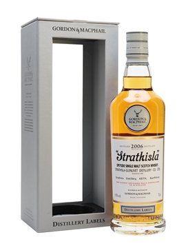 strathisla whisky bottle