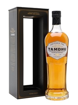 tamdhu whisky bottle