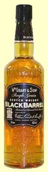 black barrel bottle