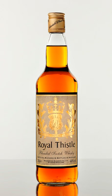 The Royal Thistle is Meadowside Blending's finest premium Scotch whisky