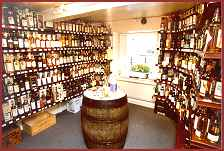 Wine and whisky at the Wright Wine & Whisky Co, Skipton