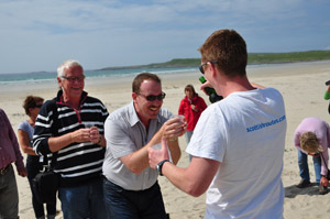Whisky Tour Beach Tasting